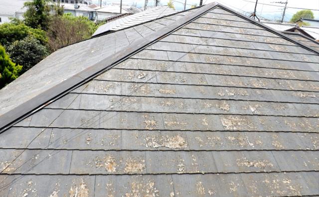 屋根塗装が必要なスレート屋根